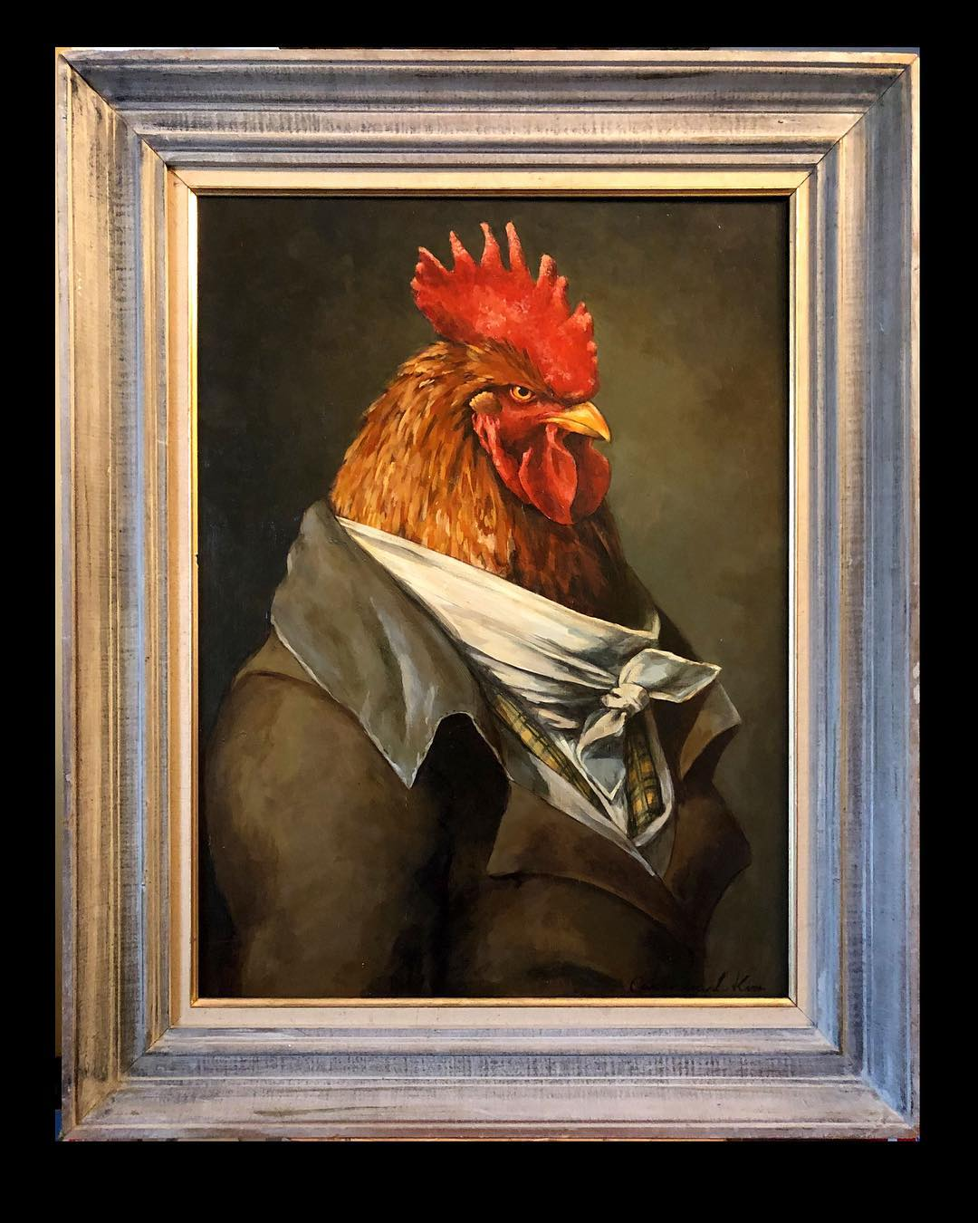The Arrogant Rooster